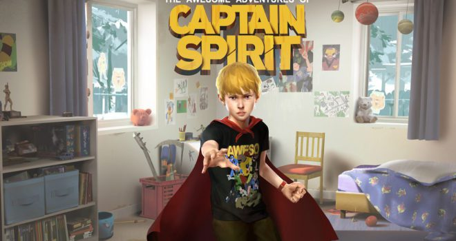 The Awesome Adventure of Captain Spirit, avventura grafica